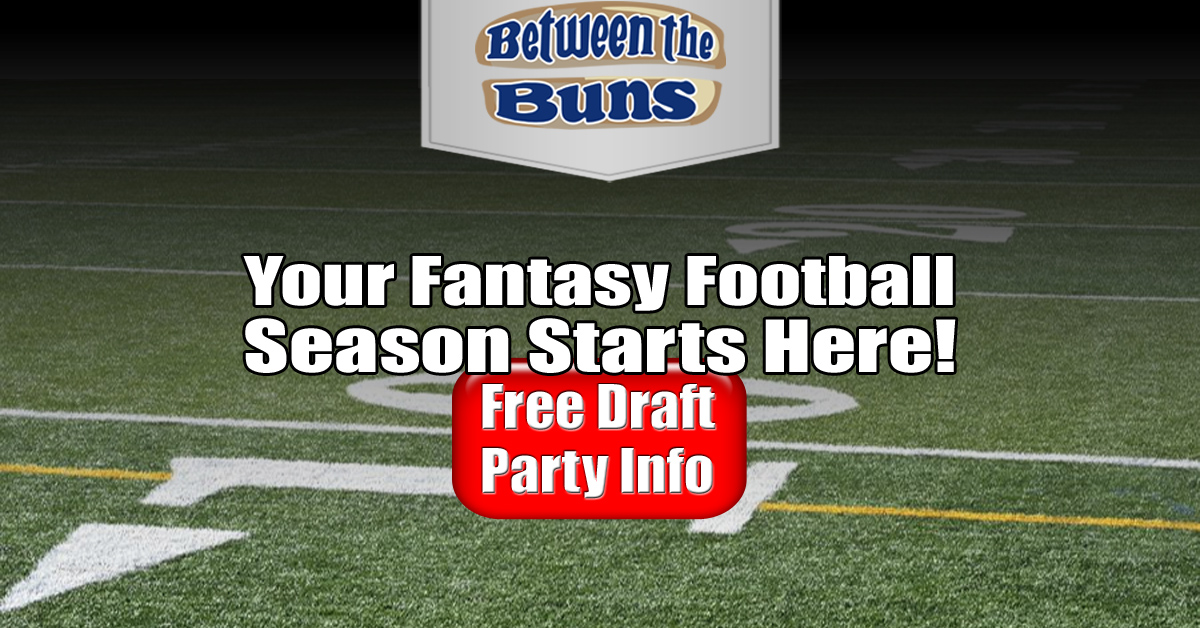 Fantasy Football with benefits.  Check out our draft parties and all the freebies you get when you host yours at the Buns.