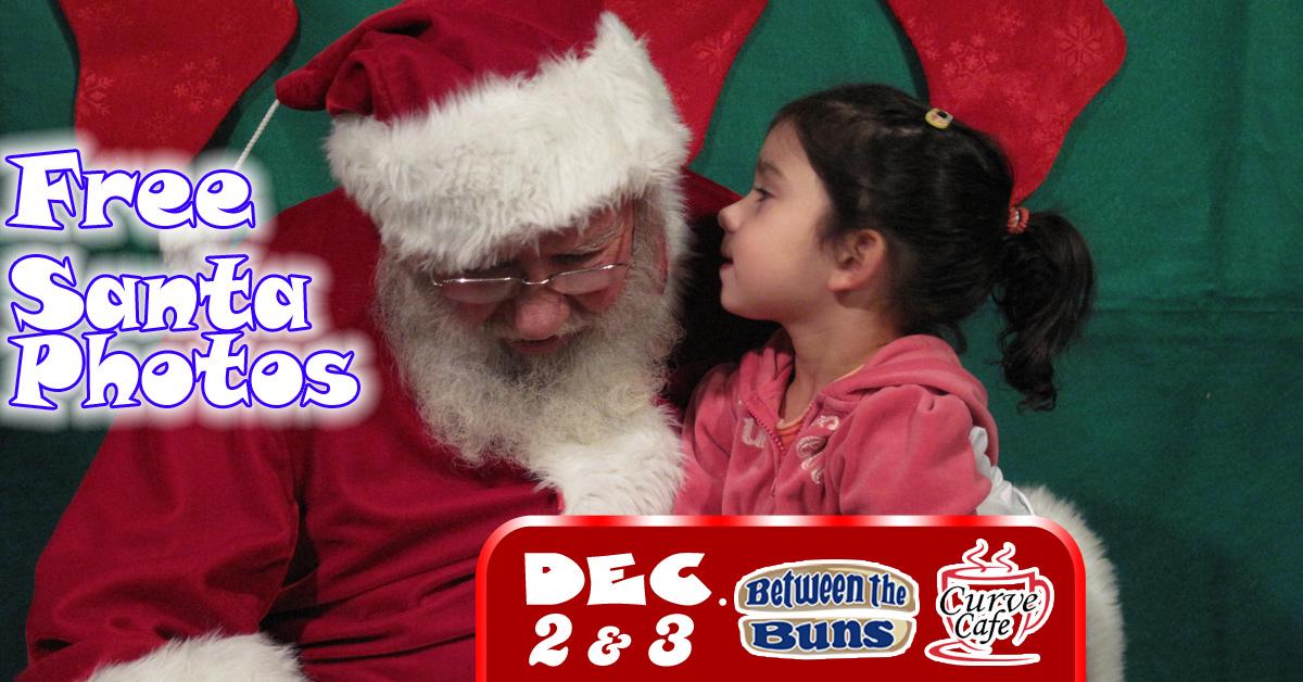 Free Santa Photos At The Buns